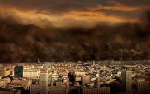 apocalypse doomsday in the city