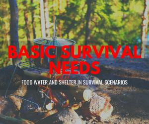 basic survival needs
