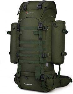 best survival backpack Mardingtop 65+10L