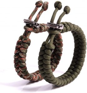 best survival bracelet friendly swede fishtail paracord bracelet