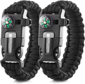 best survival bracelets x-plore gear emergency paracord bracelets