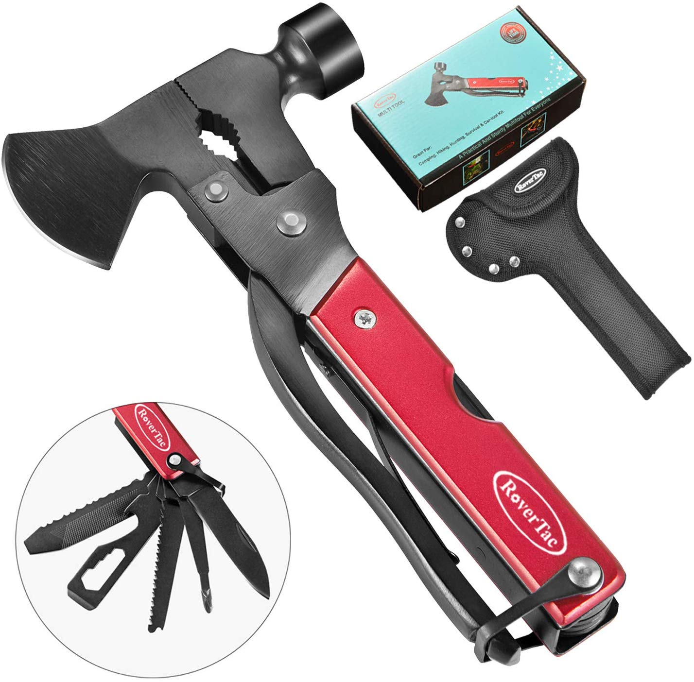 best hatchet-style multi tool rovertac 14 in 1 axe style